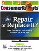 Cover July 2011 Consumer Reports