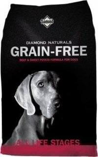 Diamond Naturals Grain Free Dog Food Review