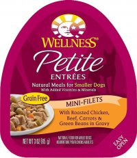 Wellness Petite Entrees Mini Filets Dog Fog