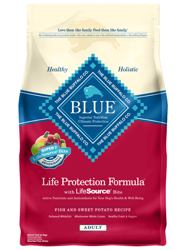 Blue Buffalo Life Protection Formula Fish and Sweet Potato Recall