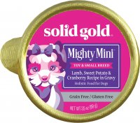 Solid Gold Mighty Mini Lamb Cup Dog Food