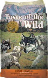 Taste of the Wild Grain Free High Prairie Dry Puppy Food
