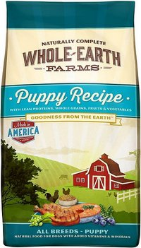 Whole Earth Farms Dry Puppy Recipe Dog Food