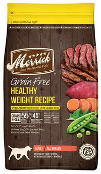 Merrick Grain Free Healthy Weight Low Fat Recipe Dog Food