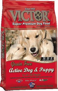 Victor Grain Free Active Dog and Puppy Super Premium Dog Food