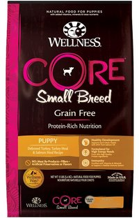 Wellness Core Small Breed Grain Free Puppy Dog Food