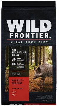 Wild Frontier by Nutro with Beef and Wild Boar Grain-Free Dry Dog Food