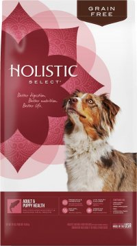 Holistic Select Grain-Free Adult and Puppy Health