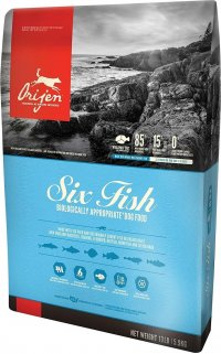Orijen Six Fish Grain-Free Dog Food