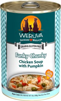 Weruva Funky Chunky Chicken Soup Wet Dog Food