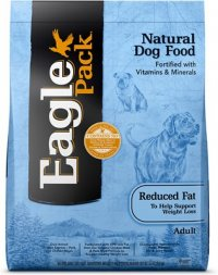 Eagle Pack Reduced Fat Dog Food for Weight Loss
